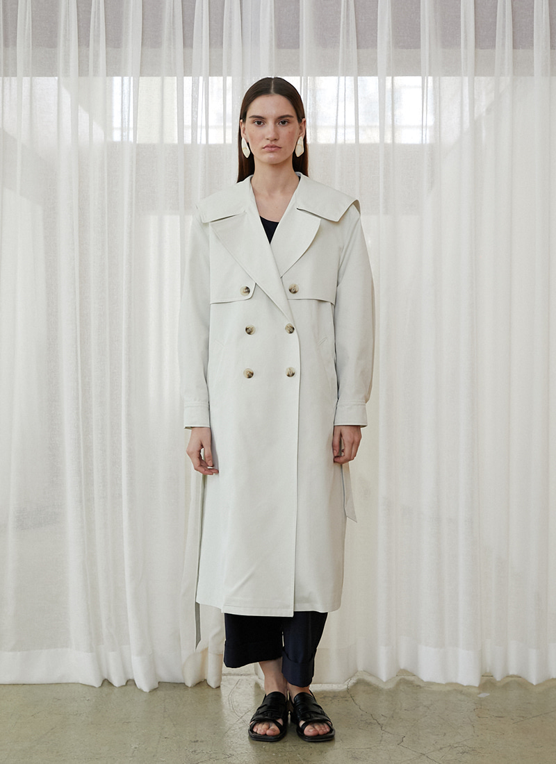 MARINE TRENCH COAT - IV