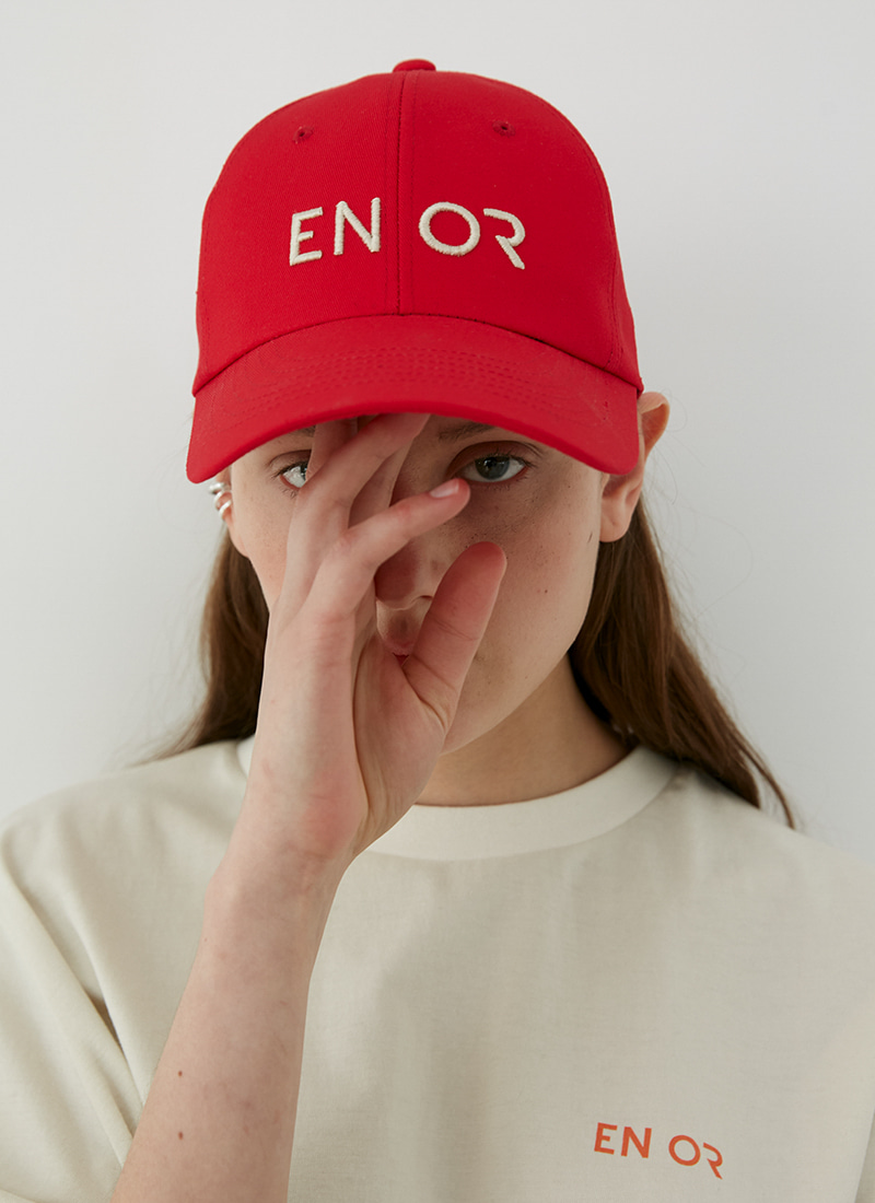 ENOR LOGO CAP - RED
